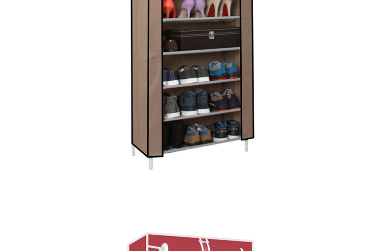 10 tier oxford fabric shoes cabinet storage organizer for Organiser un stand